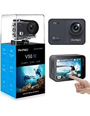 AKASO V50X 4k WiFi action camera with EIS touch screen