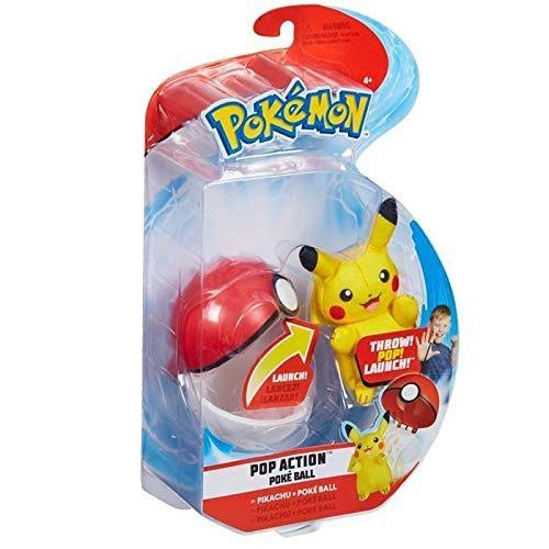 Echte Pokemon Pop Action Pokeball - Pikachu & Pokeball