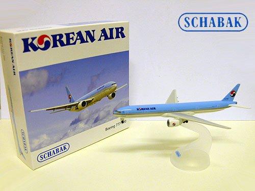 schabak-modell-flugzeug-boeing-777-300-korean-air-1600