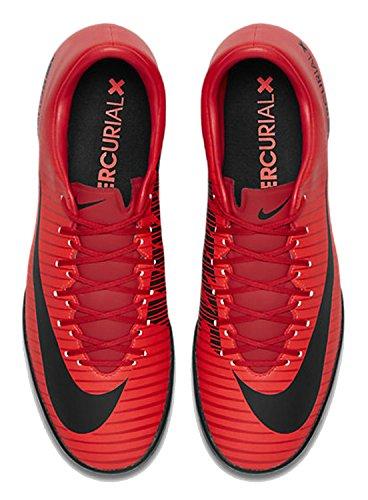 Nike Herren Mercurial Vittoria Vi Ic Fußballschuhe Mehrfarbig (università Rosso / Nero-brillante Cr)