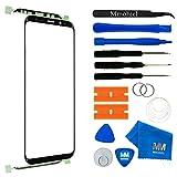 MMOBIEL Front Glas Reparatur Set für Samsung Galaxy S9 + Plus G965 Series 6.2 Inch (Schwarz) Display mit Werkzeug-Set