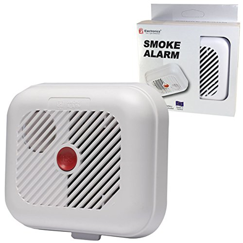 Ei Electronics Battery Smoke Alarm with Test Button