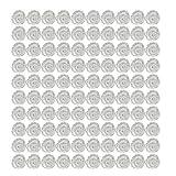 SMILEQ Wimpern Pfropfen Wimpernblüten Tasse Eine Sekunde Blühende Sonne Blühende Glue Cup (100PCS)