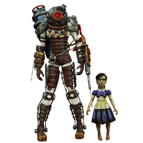 Bioshock 2 Actionfiguren Doppelpack Big Sister & Little Sister 18 cm