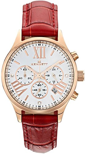 Ladies Kennett Lady Savro Empire Chronograph Watch LSERGWHRD