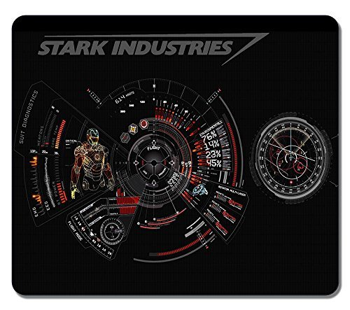 customized-fashion-style-textured-surface-water-resistent-mousepad-iron-man-stark-industries-hologra