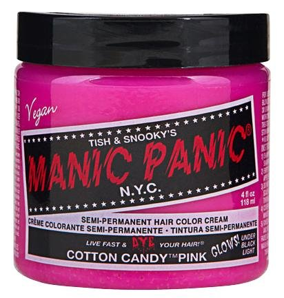 Manic Panic Cotton Candy Pink - Classic Haarfarbe hot pink 118 ml