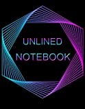 Unlined Notebook: 100 pages Unruled Blank Notebook