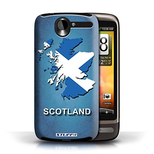 Kobalt® Imprimé Etui / Coque pour HTC Desire G7 / Argentine conception / Série Drapeau Pays Ecosse/écossaise