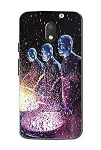 Moto e3 Power Smartphone Designer Super Finish Back Cover By Case Cover
