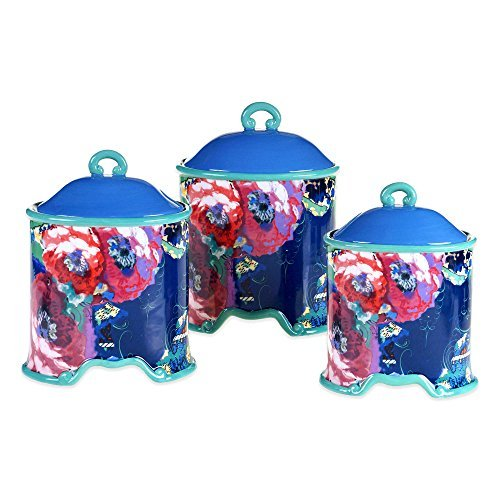 Tracy Porter Poetic Wanderlust Reverie 3-piece Canister Set By Tracy Porter