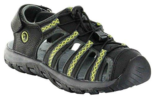 Conway Sandaletten Outdoor grün Damen/Herren-Trekking-Schuhe Split, Farbe:grün, Größe:40 EU