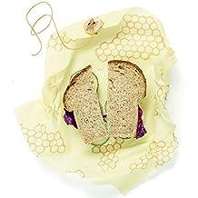 Bee 's Wiederverwendbare Sandwich-wickeln, nachhaltig zur Aufbewahrung von Lebensmitteln, 33x 33cm