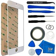Kit de Reemplazo de Pantalla Táctil para iPhone 6 6S Blanco. Incluye Pinzas / Cinta adhesiva 2 mm / Kit de Herramientas / Limpiador de Microfibra / Alambre Metálico / Manual de Instrucciones MMOBIEL