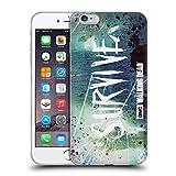 Offizielle AMC The Walking Dead Überleben Glas Typografie Soft Gel Hülle für Apple iPhone 6 Plus / 6s Plus