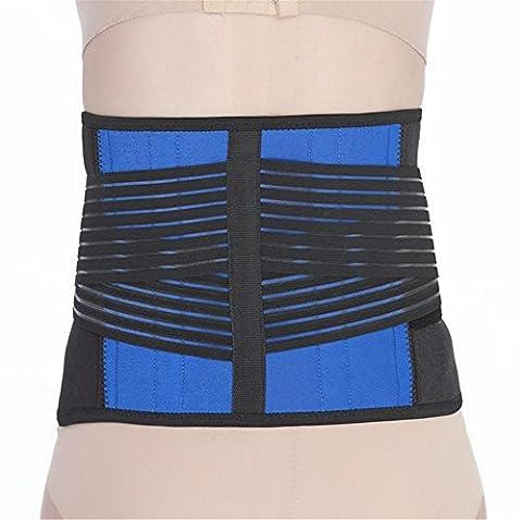 WGE Verstellbare Neopren Doppel-Pull-Lende Unterstützung Niedriger Rücken Gürtel Brace-Rückenschmerzen/Rutschte Disc Pain Relief , 137