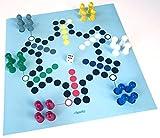 Spieltz 52627: Riesen-Ludo für 6 Spieler.