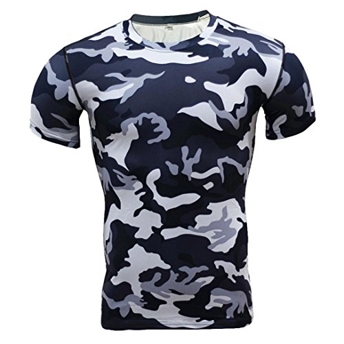 (Tank top v Ausschnitt Herren Longshirts Men Basic t Shirts Herren Weiss Slim Shirt männer Herren t Shirt blau weiß gestreift)