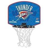 Spalding Ball NBA miniboard oklahoma city 77-633Z, orange/blau, One Size, 3001588012717