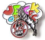 1. FC Köln Anstecker/Pin ** Jeck op FC ** 5010116