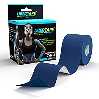 Kinesiology Tape (Super Sticky) - Latex Free and Hypoallergenic for Safety - Durable Material for Extended Use - Water and Sweat Resistant - Enhances Performance and Reduces Pain