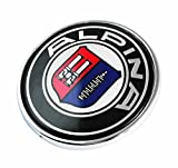 BMW ALPINA 82mm Vorderseite Rückseite Motorhaube Kofferraum Abzeichen Anstecknadel Zeichen Plakette / BMW ALPINA 82mm Front Rear Bonnet Boot Hood Trunk Emblem Logo Badge 1 3 4 5 6 7 8 X1 X3 X4 X5 X6 M2 M3 M5 M6 SERIES E36 E38 E39 E46 E53 E60 E61 E63 E64 E65 E66 E70 E71 E82 E83 E84 E85 E86 E88 E89 E90 E91 E92 E93 F01 F02 F10 F11 F12 F13 F15 F20 F22 F23 F25 F26 F30 F31 F32 F33 F34 F36 F48 F80 F82 F83 F85 F86 F87 F90 F97 F98 and other Models