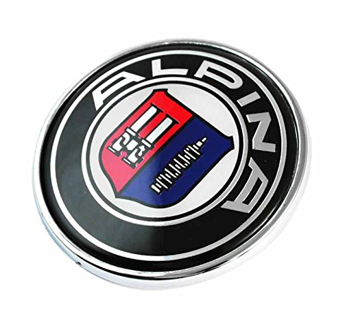 BMW ALPINA 82mm Vorderseite Rückseite Motorhaube Kofferraum Abzeichen Anstecknadel Zeichen Plakette / BMW ALPINA 82mm Front Rear Bonnet Boot Hood Trunk Emblem Logo Badge 1 3 4 5 6 7 8 X1 X3 X4 X5 X6 M2 M3 M5 M6 SERIES E36 E38 E39 E46 E53 E60 E61 E63 E64 E65 E66 E70 E71 E82 E83 E84 E85 E86 E88 E89 E90 E91 E92 E93 F01 F02 F10 F11 F12 F13 F15 F20 F22 F23 F25 F26 F30 F31 F32 F33 F34 F36 F48 F80 F82 F83 F85 F86 F87 F90 F97 F98 and other Models - Bonnet Badge
