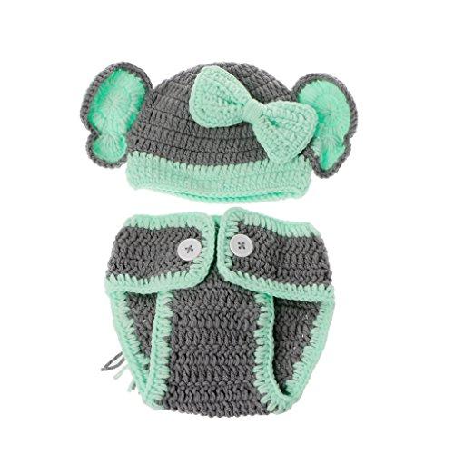 Lyguy - Trajes de fotografía para recién Nacido, diseño de Elefante Hecho a Mano, para Estudio de fotografía