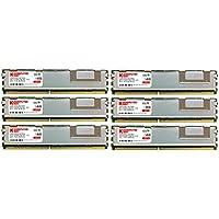 Komputerbay 12GB (6X2GB) 667MHz PC2-5300 DDR2 ECC Registered modulo di memoria Fully Buffered