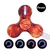 LEEHUR-USB-Wiederaufladbare-LED-Hand-Finger-Spinner-Fidget-Spielzeug-mit-15-Lichteffekte-fr-ADHS-EDC-Stress-Reducer-Kinder-Erwachsene-Switch-Led-Feuer