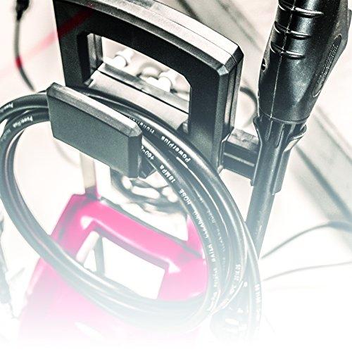 Einhell Hochdruckreiniger TC-HP 1538 PC (1500 W, max. 110 bar, 6 l/min, max. 60 °C, 5 m Schlauch, drehbare Pistole) -
