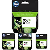 HP 953XL Schwarz Druckerpatrone + HP 953XL Cyan Druckerpatrone + HP 953XL Magenta Druckerpatrone + HP 953XL Gelb Druckerpatrone