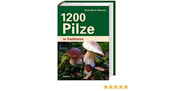 1200 Pilze, in Farbfotos: Amazon.de: Rose Marie Dähncke: Bücher