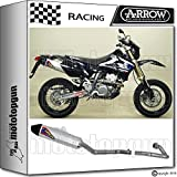 Arrow Auspuff Komplett Race Thunder Road V2 Carby Suzuki DR-Z 400 SM 2005 05 72005tak + 72070pd
