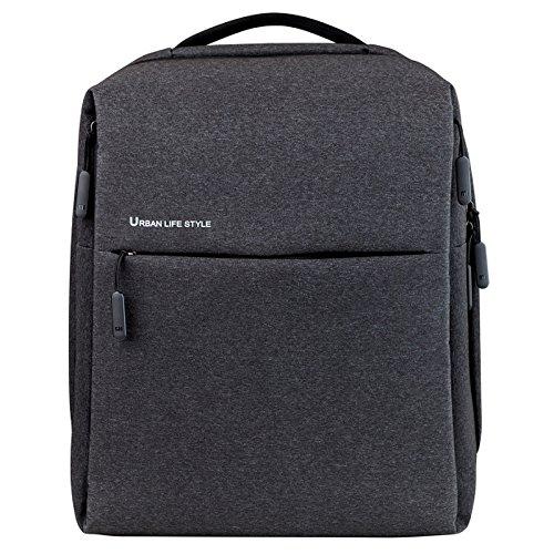 Xiaomi Mi City Backpack Zaino Casual, 39 cm, 3 liters, Grigio (Gris Oscuro)