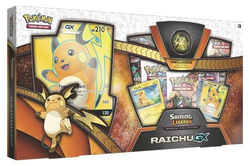 Pokemon POK80363Shining Legends Raichu GX Sonderkollektion-Box (englische Version) (Sammlerstücke Sport-card)