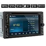 2015 Neu Doppel 2Din Universal Car Dvd Player Bluetooth Autoradio Video Audio Stereo Multimedia mit 6.2