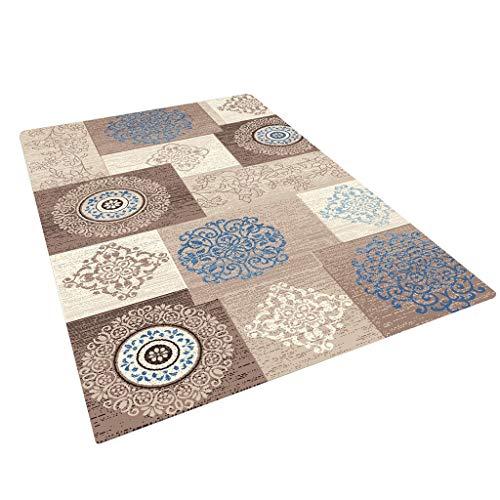 tappeti Antisdrucciolevole, Coperta Rettangolare del Divano del Salotto del Tavolo del Salotto, Grande Letto della Camera da Letto mescolato Spessore -8mm