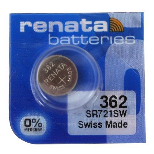 1 x Renata 362 fabriqué en Suisse au lithium Sr721sw