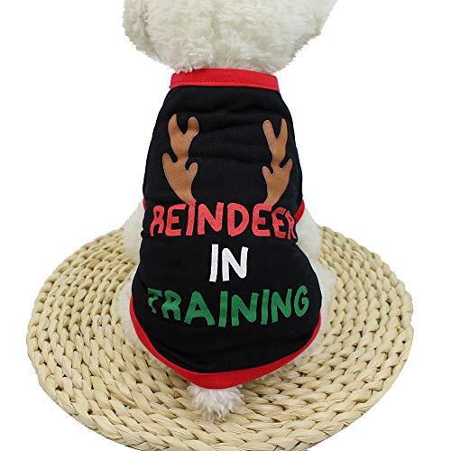Schäferhund Kostüm - OVERMAL Hunde Pullover Weihnachten, Hunde Welpen
