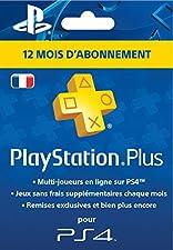 PlayStation Plus Card - Abonnement 12 Mois