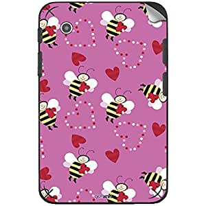 GsmKart ST2 Mobile Skin for Samsung Tab 2 (Pink, Tab 2-345)