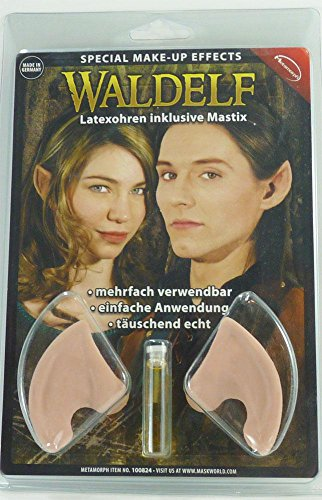 (Maskworld Latex Waldelfenohren Inkl. Mastix Hautkleber)