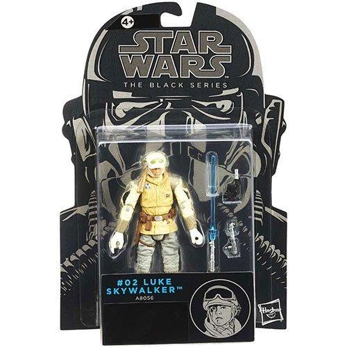 Star Wars Black Series 3 3/4' 2014 #2 Luke Skywalker Hoth Figure