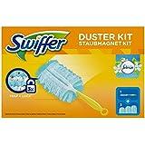 SWIFFER Kit de démarrage Plumeau attrape-poussière 1 manche et 3 recharges