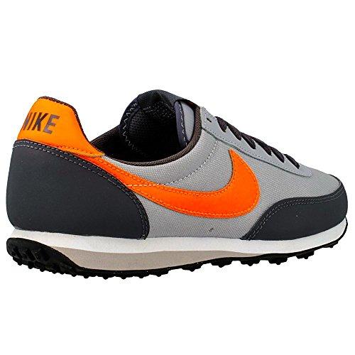 Nike Elite (GS) Jungen Laufschuhe Grau-Orangefarbig-Schwarz