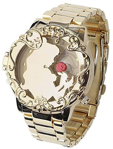 Die Schöne und das Biest La Belle Et La Bête Golden Belle Montres bracelets couleur or