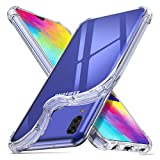 ORNARTO Cover Samsung M20,Custodia Trasparente Assorbimento Morbida Gel TPU Flessibile Ultra Leggere Silicone Ultra Sottile Case per Samsung Galaxy M20(2019) 6,3' Chiaro