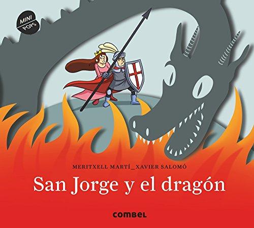 San Jorge y el dragón. Minipops por MERITXELL MARTI ORRIOLS