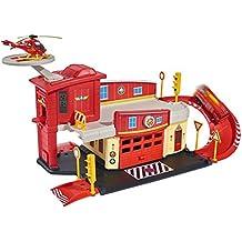 Dickie Spielzeug - El centro de rescate, Sam el bombero